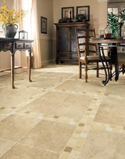 Ceramic tile flooring in Linton, IN