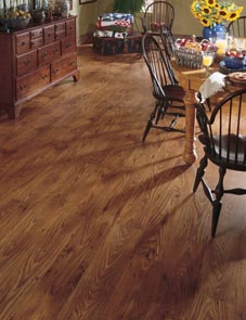 Hardwood flooring in Linton, IN